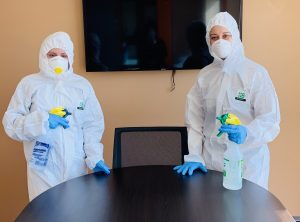 coronavirus office cleaning