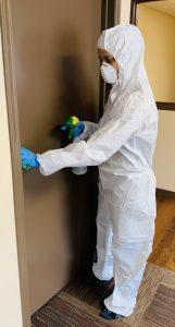 coronavirus office cleaning